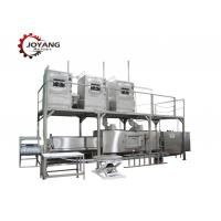 Industrial Food Thawing Machine PLC Control System Silver Color Shell