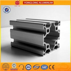 Buy cheap Durable T5 Temper Aluminium Industrial Profile 40 x 80 / 80 x 80 from wholesalers