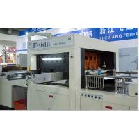 Roll Paper Die Cutting Machine , Automatic Die Cutter For Disposable Paper Cups Manufactures