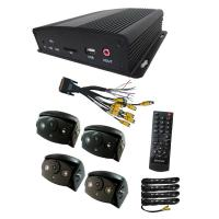 High Resolution School Bus Camera Systems Video Recording With IR Manufactures