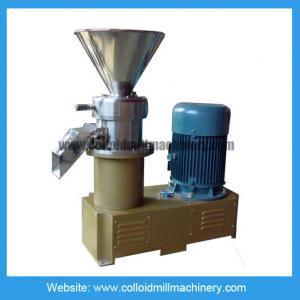 50-100 kg/hour Peanut Butter making machine colloid mill