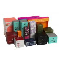 China Folding Biodegradable Cosmetic Gift Boxes Packaging Gifts Eco - Friendly For Women on sale