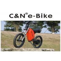 High Power Zero - Emission Fastest Off Road Electric Bike , Off Road Electric Bicycle Manufactures