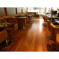 China Abrasion resistant,8 layers UV-proof coating engineered woven strand  bamboo flooring on sale