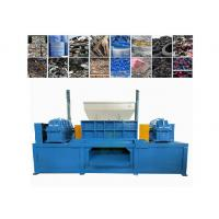 Big Size Plastic Bottle Shredder Machine With 40pcs Knives Customized Color Manufactures