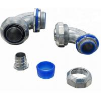 UL Listed Electrical Conduit Fittings Liquid Tight Conduit Connectors 90 Degree Manufactures