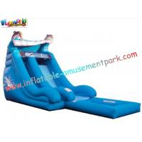 Child, Toddler Outside Toys Outdoor Inflatable Water Slides for home, commercial use Manufactures