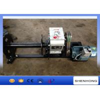 Quality 220 Voltage Electric Cable Pulling Winch / Cable Drum Winch Stringing Equipment for sale