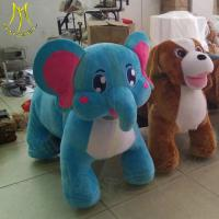 Hansel hot selling battery operated ride on animals stuffed animals for sale Manufactures
