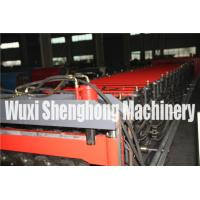 Touch Screen Double Layer Roll Forming Machine , Roof Tiles Making Machine Manufactures
