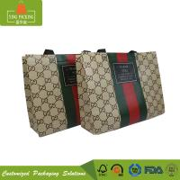 China Various design eco friendly packaging non woven reusable grocery shopping bag with handle on sale