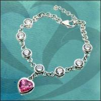 Buy cheap 925 Silver Charm Bracelet from wholesalers