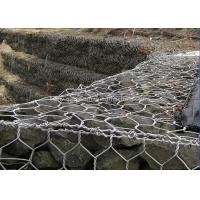China Hexagonal Gabion Box Bridge Protection With Hot Dipped Galvanized Wire on sale