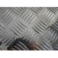 China Jumbo Silver Aluminum Diamond Plate Flooring For Building Structure on sale