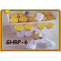 Quality GHRP6 GHRP-6 99% purity Peptides Steroids for Weight Loss Polypetide Hormones 2mg / Vial 87616-84-0 for sale
