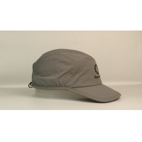 Quick Dry Soft Grey Sports Dad Hats Plastic Buckle Manufactures