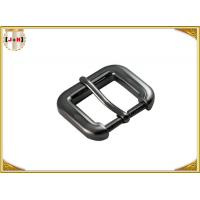 Gunmetal Cinch Metal Bag Buckle Hardware , Zinc Alloy Handbag Metal Fittings Manufactures
