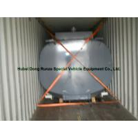 High Strength 17500L Hcl Cargo Hydrochloric Acid Tank For Chemical Truck Body Manufactures