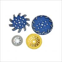 China High Efficiency Diamond Cup Grinding Wheel For Concrete Floor Grinding Wet / Dry on sale
