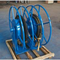 Advanced Retractable Hose Reel SGS Approved High Safety For Movable Gas Manufactures