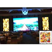 Indoor P3.91 Full Color Rental LED Video Display Tool Less Installation Light Weight Fanless Manufactures