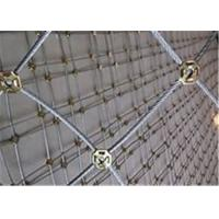 China Professional Rockfall Protection Netting Low Carbon Steel Wire Slope Protection Mesh for sale