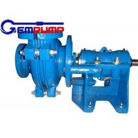 50B-L Low Abrasive Centrifugal Slurry Pump horizontal double shell axial suction Manufactures