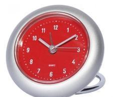 rondo travel alarm clock in sliver Manufactures