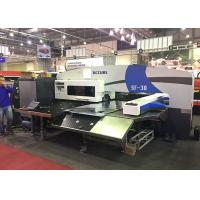 Quality Siemens CNC Amada Turret Punching Machine 4 Axis 32 Stations Horizontal for sale