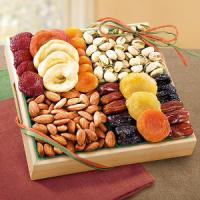Wooden Fruit Gift Tray Manufactures