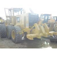 Yellow Used Caterpillar Grader 140g Japan For Farm Work Construction Manufactures