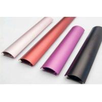 Colored Anodizing  6061 Aluminum Profile Customized Shape With Finished Machining Manufactures