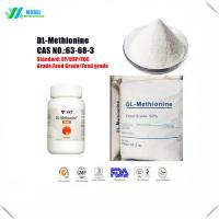 China Cheap Amino acids Methionine/DL- Methionine Nutrition Supplement Feed Additive/Food Additive on sale