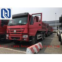 Sinotruk HOWO 6x4 Heavy Duty Dump Truck For Civil Engineering 9.726 L Manufactures