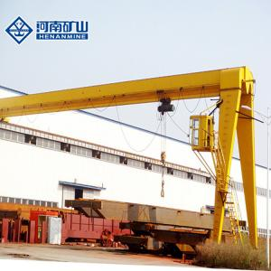 China Electric Trolley Mounted A5 20/10T Container Gantry Crane Suitable for factories, port warehouses on sale