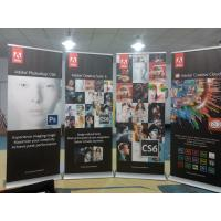 Trade Show Retractable Display Banners , Table Top Retractable Banners 80*200cm Manufactures