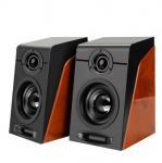 Mini 920 HIFI Desktop Speaker , USB2.0 Subwoofer Sound High End Bookshelf Speakers Manufactures