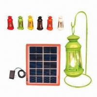 Solar lantern system, provides high degree of brightness, energy-saving and user-friendly Manufactures