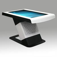 Half Standing Multi Touch Screen Table High Definition Image Display For Teaching Manufactures