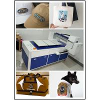 Dtg Printer Automatic T Shirt Printing Machine For Light / Dark Color Clothing Manufactures