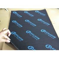 KTV Wall Noise Deadening / Sound Proof Material Black Sticky 7mm Fire - Proof Manufactures