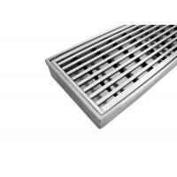 High Specification Stainless Steel Channel Drain Grates Standard Width 995MM Gap 5MM Manufactures