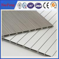 Quality 6000 series aluminium louvre extrusion factory, roller shutter doors for for sale