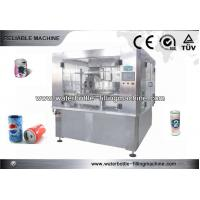 China Beer Soda Water CSD Can Filling Machine , Can Sealing Equipment on sale