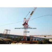 D5030 12T 50m Boom Luffing Tower Crane 3m Mast 50m HUH Height Manufactures