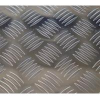 Quality Color Coated Polished Aluminum Checkered Sheet Thickness 1.5mm - 6mm , Diamond Plate Sheets for sale