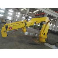Hydraulic Industry Steel Marine Crane Full Folding Telescopic Jib Boom Manufactures