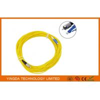 China LC to FC Singlemode Simplex Fiber Optic Patch Cord ,  20 Meters LSZH Fiber Patch Cable on sale