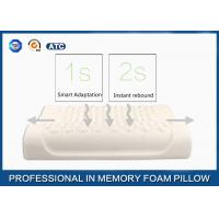 Buy cheap Breathable Massage Latex Foam Rubber Pillow Sound Sleep Improving and Anti - from wholesalers