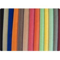 Colorful Covers / Bags / Apparel Flocking Fabric Velvet Cloth Manufactures